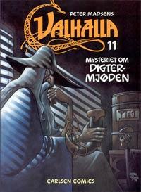 Valhalla 11, forside. Klik for at se siden i stort format